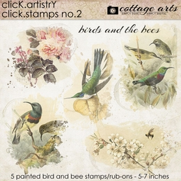 Click.Artistry Click.Stamps 2 - Birds and the Bees