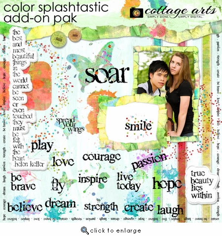 Color Splashtastic Add-On Pak