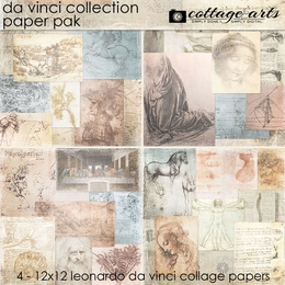 Da Vinci Collection Paper Pak
