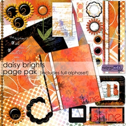 Daisy Brights Page Pak w/AlphaSet