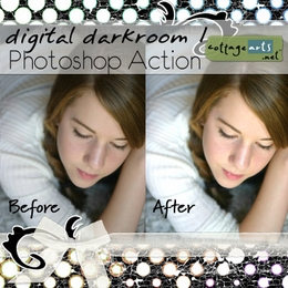 Digital Darkroom 1 Photoshop Action