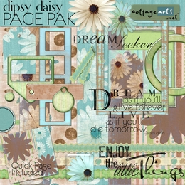Dipsy Daisy Page Pak w/Quick Page