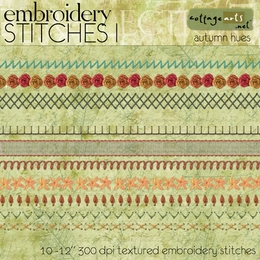 Embroidery Stitches 1