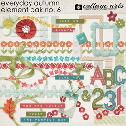 Everyday Autumn Element Pak