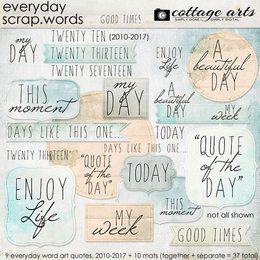 Everyday Scrap.Words