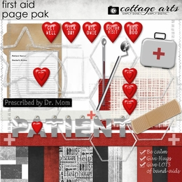 First Aid Page Pak