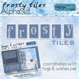 Frosty Tiles AlphaSet