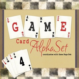 Game Card AlphaSet