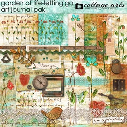 Garden of Life - Letting Go Art Journal Pak