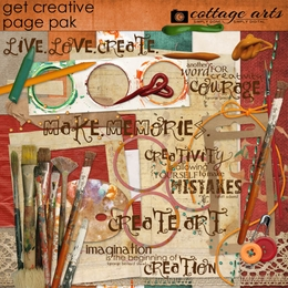 Get Creative Page Pak