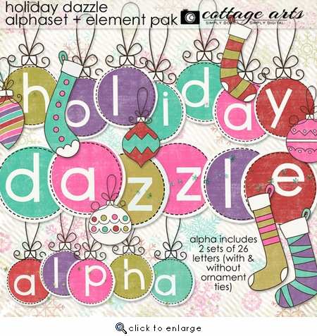 Holiday Dazzle AlphaSet & Element Pak