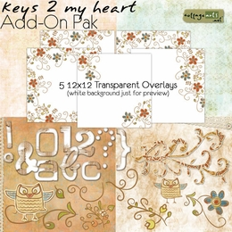 Keys 2 My Heart Add-On Pak