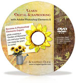 Learn Digital Scrapbooking <br> w/  Adobe� Photoshop� Elements 8