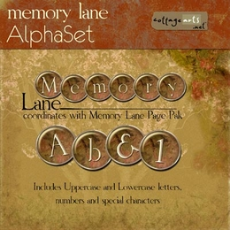 Memory Lane AlphaSet