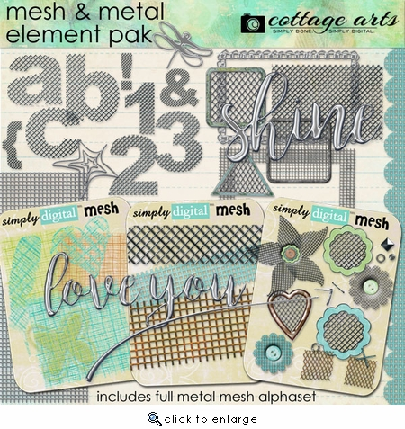 Mesh and Metal Element Pak