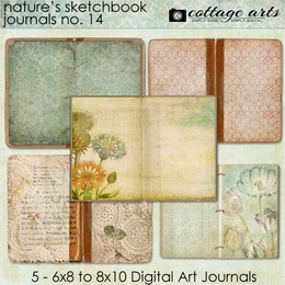 Nature's Sketchbook 14 Journals