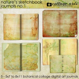 Nature's Sketchbook - Journals 1