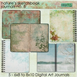 Nature's Sketchbook Journals 8