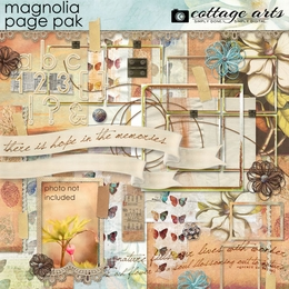 Nature's Sketchbook - Magnolia Page Pak