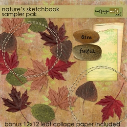 Nature's Sketchbook Sampler Pak