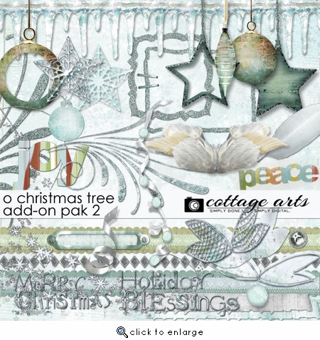 O Christmas Tree Add-On Pak2