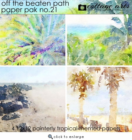 Off the Beaten Path 21 Paper Pak