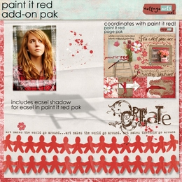 Paint it Red Add-On Pak