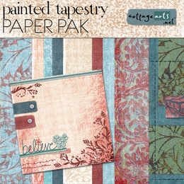Painted Tapestry Paper Pak