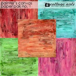 Painter's Canvas 1 Paper Pak