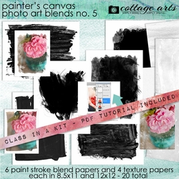 Painter's Canvas Photo Art Blends 5