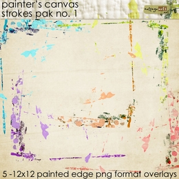 Painter's Canvas Strokes 1 Pak