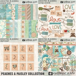 Peaches & Paisley Collection