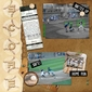Play Ball Page Pak w/Baseball Card