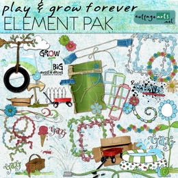Play & Grow Forever Element Pak