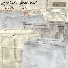 Printer's Archived Paper Pak