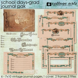 School Days - Grad Journal Pak