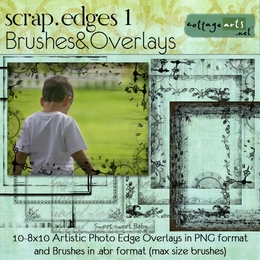 Scrap.Edges1 Brushes & Overlays (8x10)