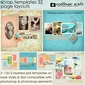 Scrap Templates 32 - Page Layouts