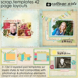 Scrap Templates 42 - Page Layouts