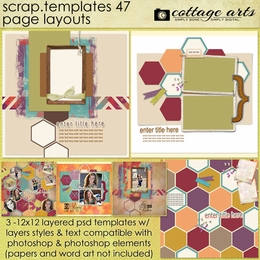Scrap Templates 47 - Page Layouts