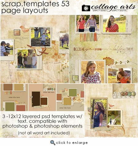 Scrap.Templates 53 - Page Layouts