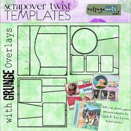 ScrapOver Twist 12x12 3-Pak Collection 1
