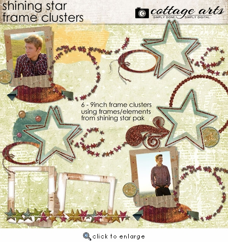 Shining Star Frame Clusters