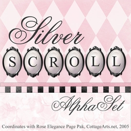 Silver Scroll AlphaSet