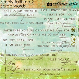 Simply Faith 2 Scrap.Words