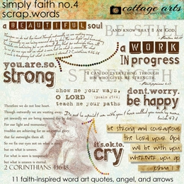Simply Faith 4 Scrap.Words