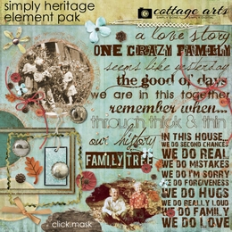 Simply Heritage Element Pak