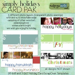 Simply Holidays Photo Cards