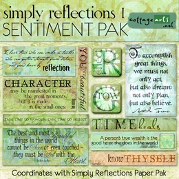 Simply Reflections 1 Sentiment Pak