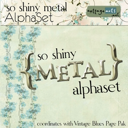 So Shiny Metal AlphaSet